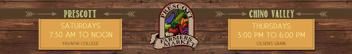 Welcome to the Prescott Farmers Market
